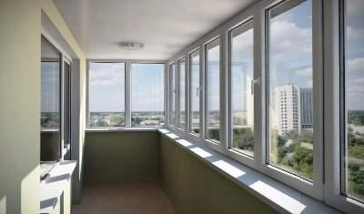 Балконы пвх профиль.